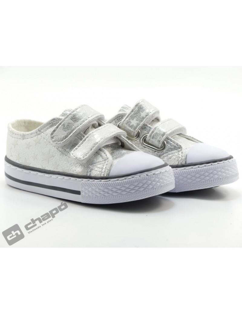 Zapatillas NiÑo-a Plata Conguitos 141 15