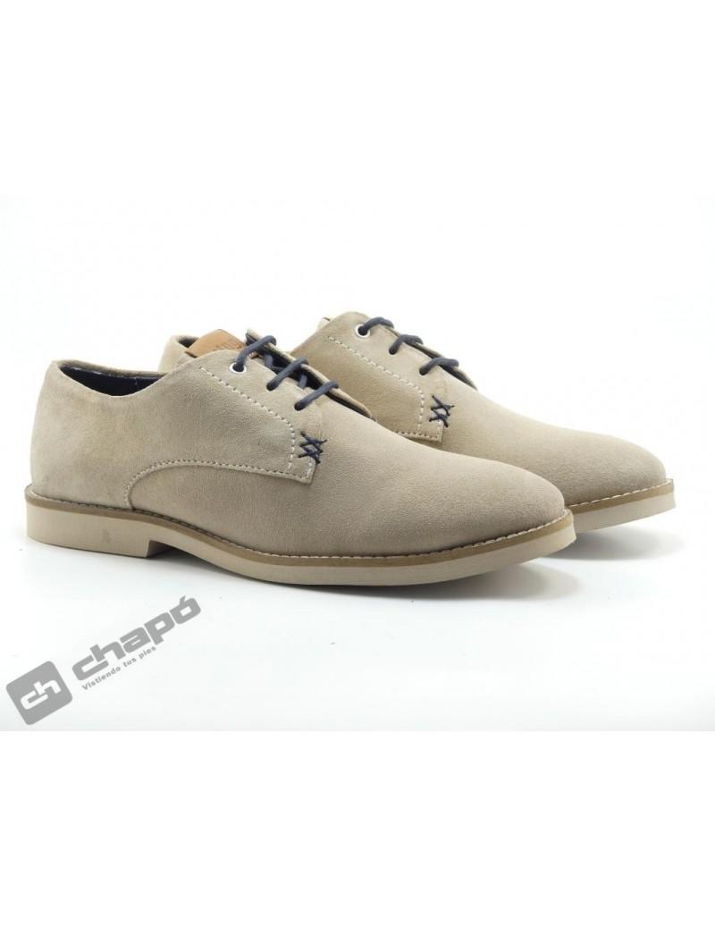 Zapatos Beig Mustang 47755