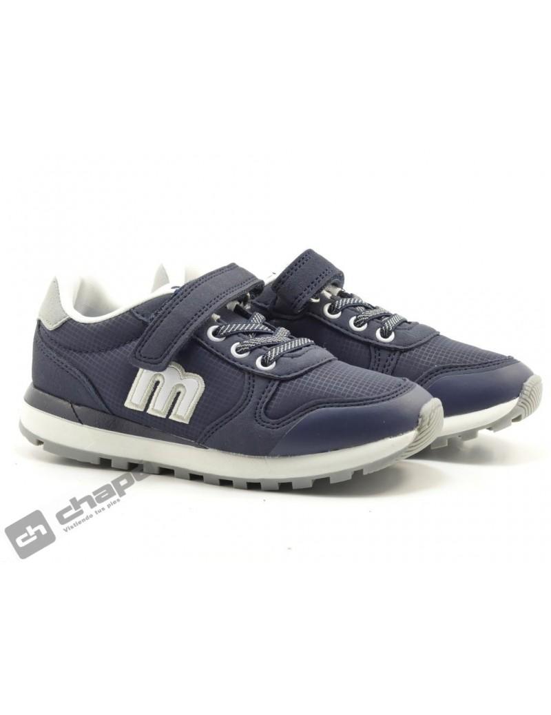 Zapatillas NiÑo-a Azul Mustang 47972-47971