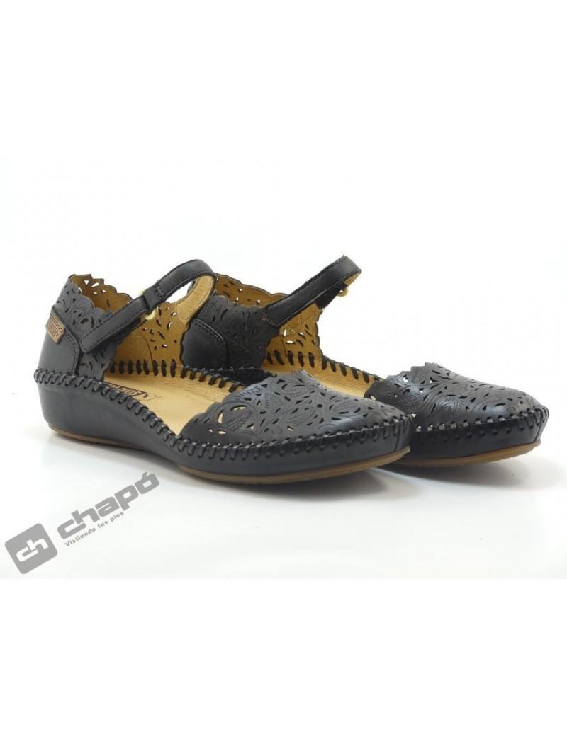 Zapatos Negro Pikolinos 655-0906 P. Vallarta