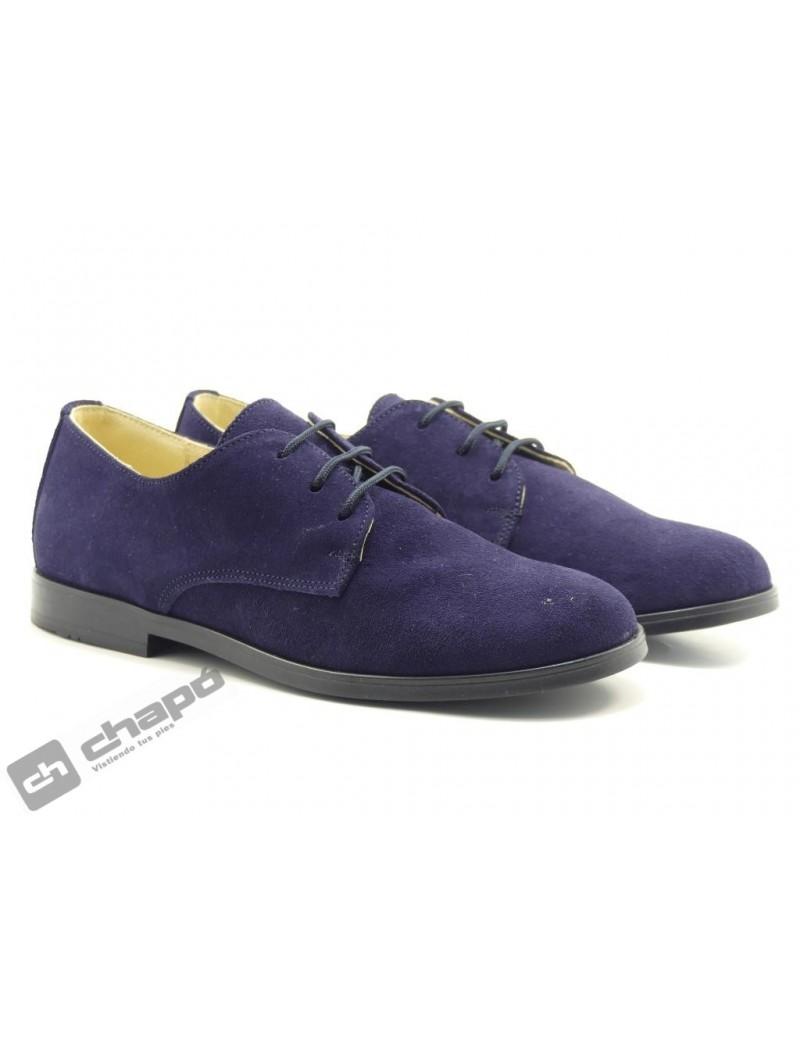 Zapatos Azul Yowas 20344