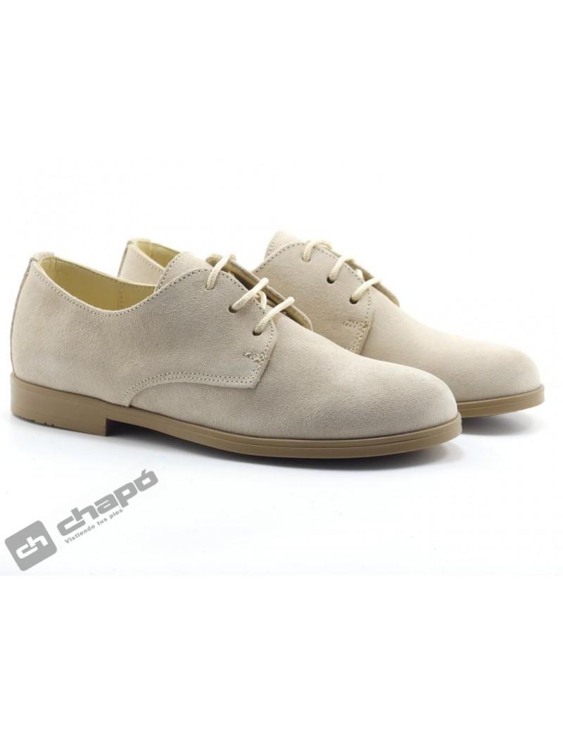 Zapatos Beig Yowas 20344