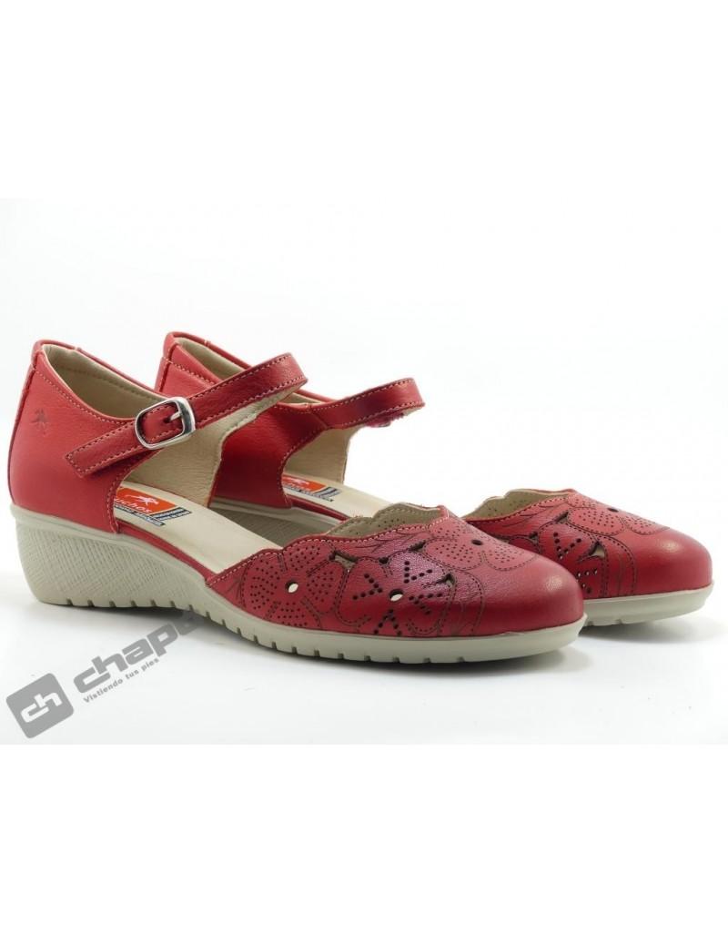 Zapatos Rojo Fluchos F183 Samu