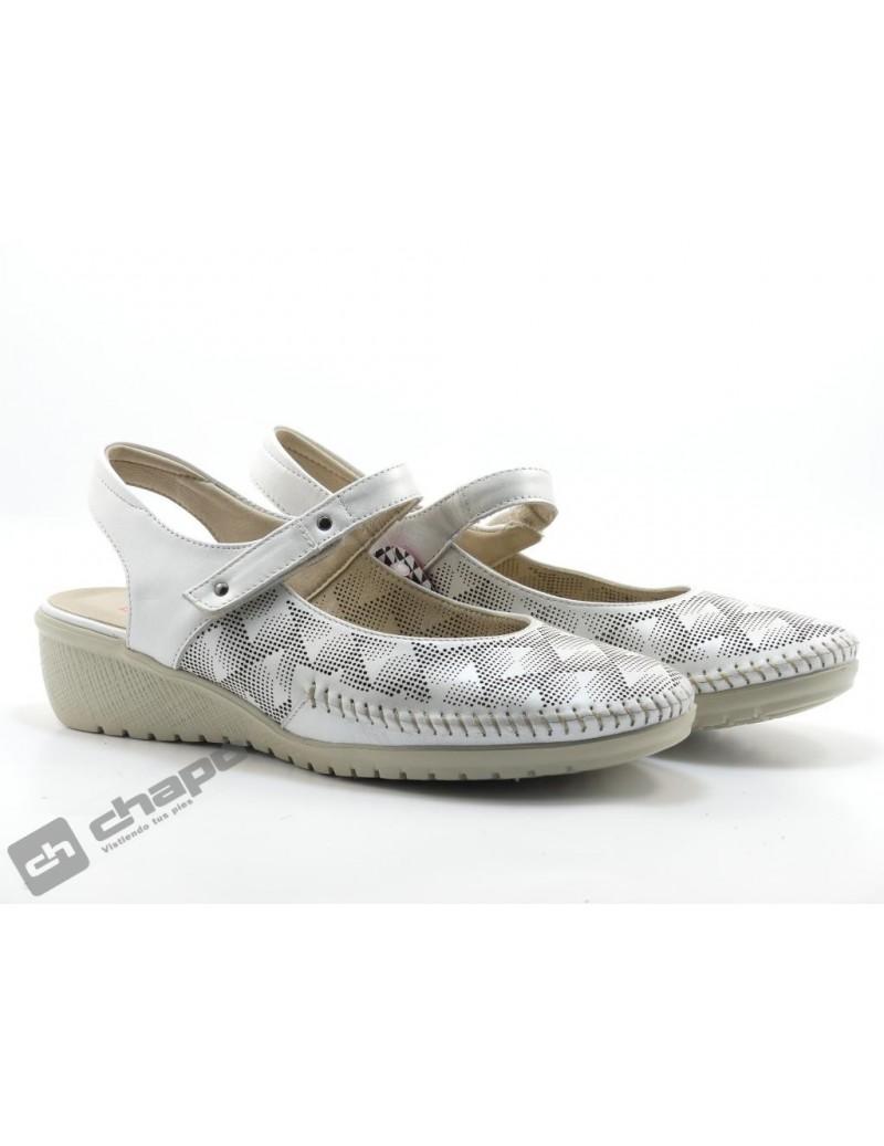 Zapatos Blanco Fluchos F0760 Efes