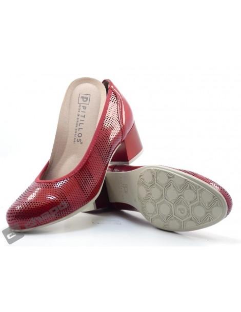 Zapatos Rojo Pitillos 6041