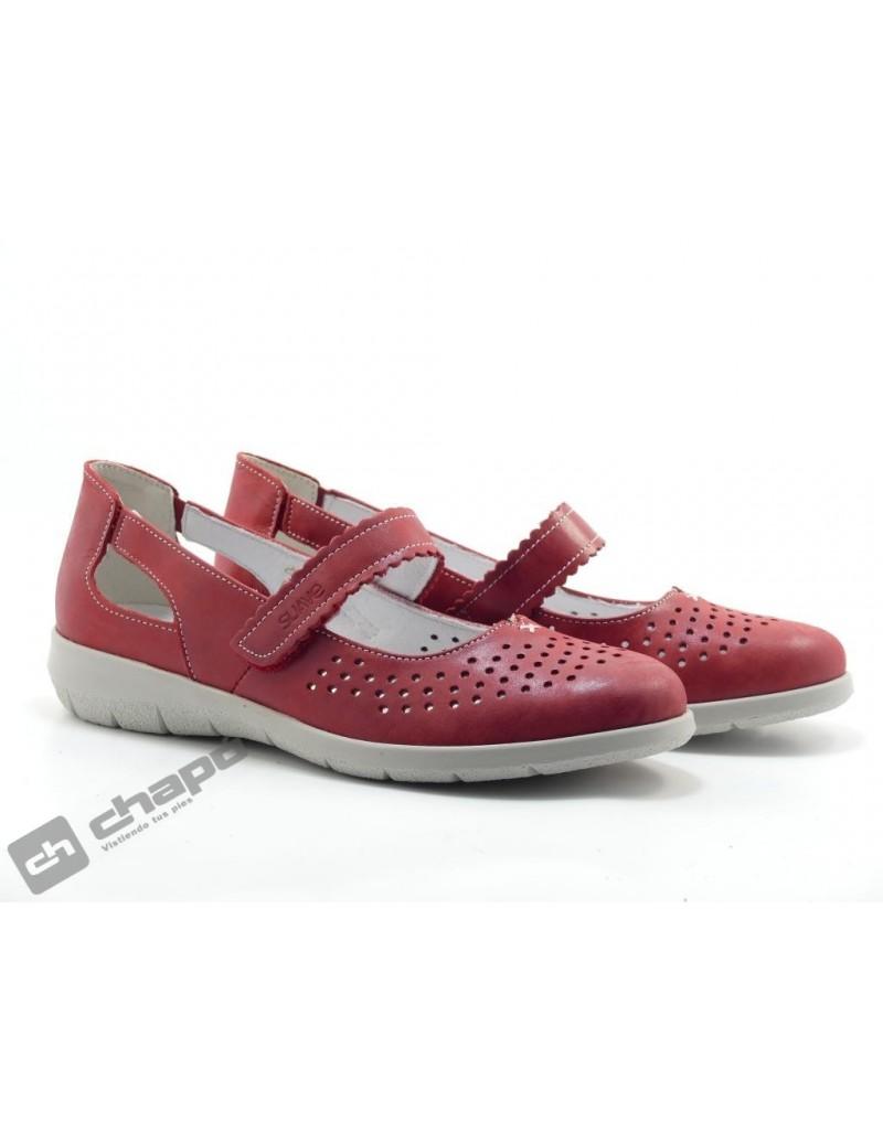 Zapatos Rojo Suave 3632