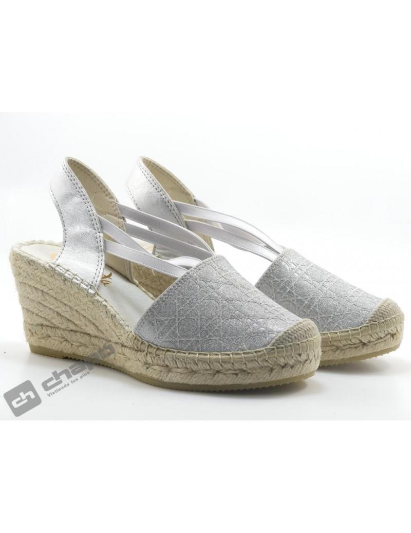 Zapatos Plata Vidorreta 05500