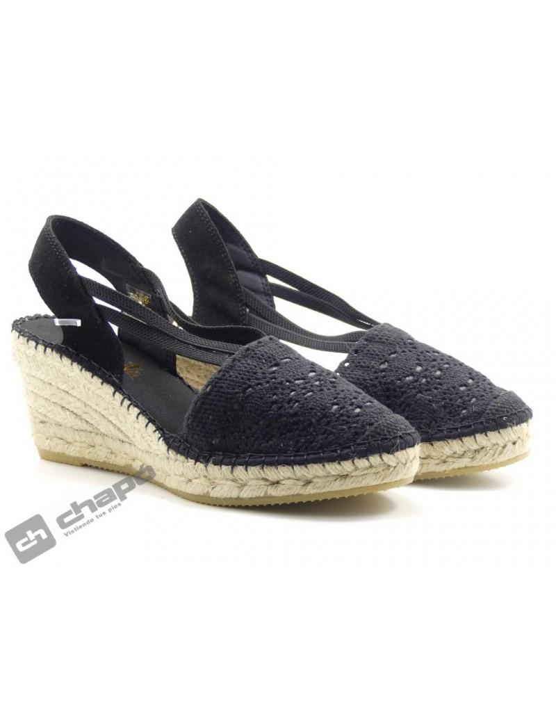 Zapatos Negro Vidorreta 05500