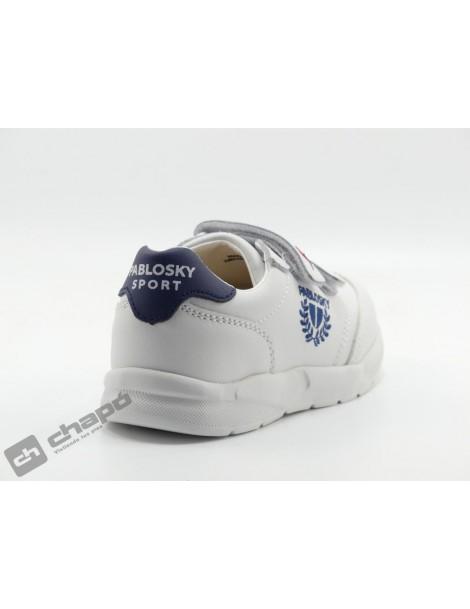 Zapatillas NiÑo-a Blanco/azul Pablosky 277902