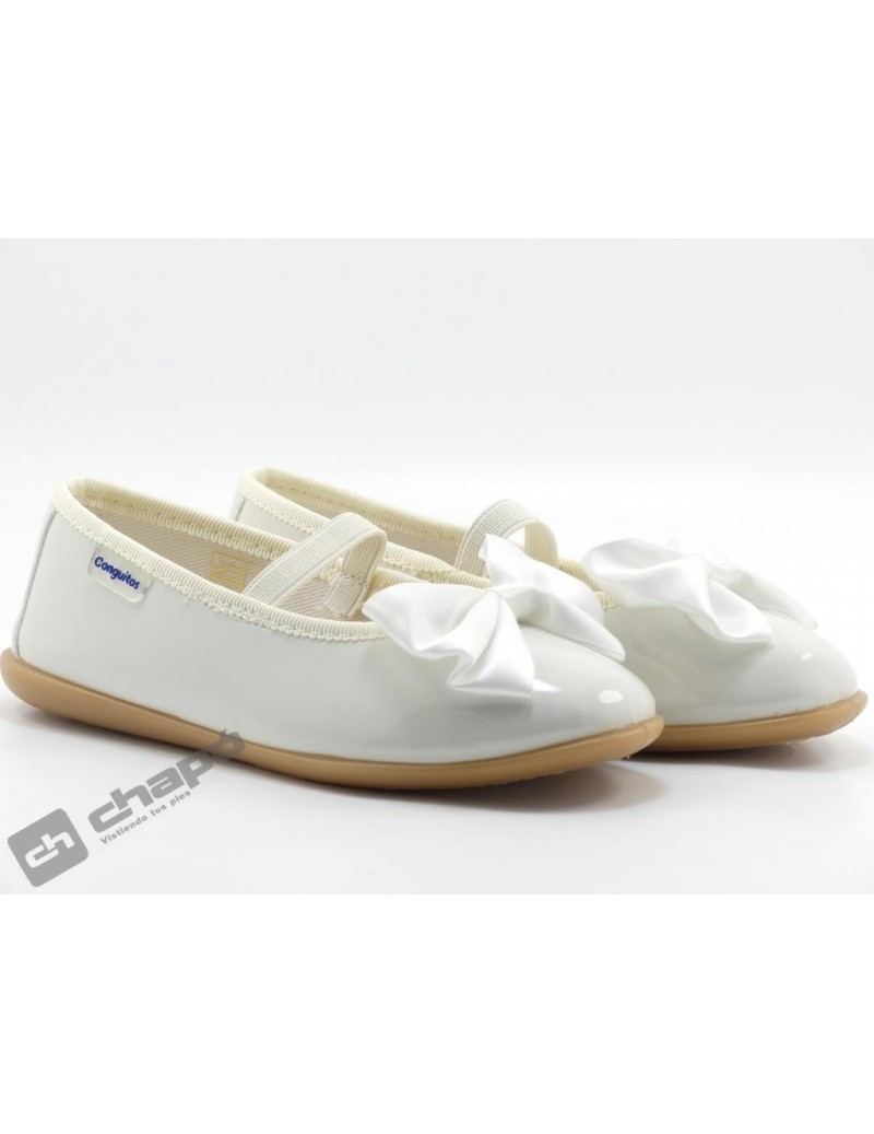 Zapatos Blanco Conguitos 265 08
