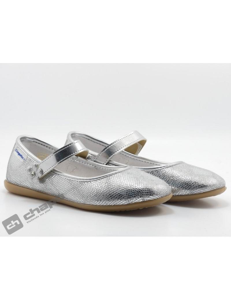 Zapatos Plata Conguitos 265 12