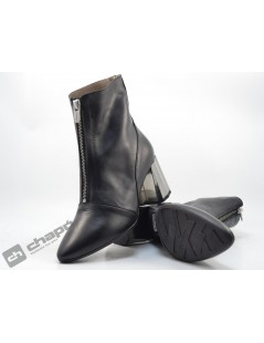 Botines Negro Wonders L-9735-p