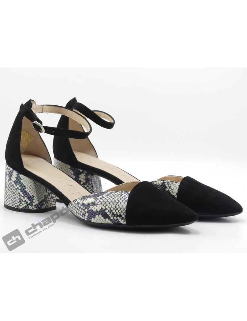 Zapatos Negro Wonders I-8002