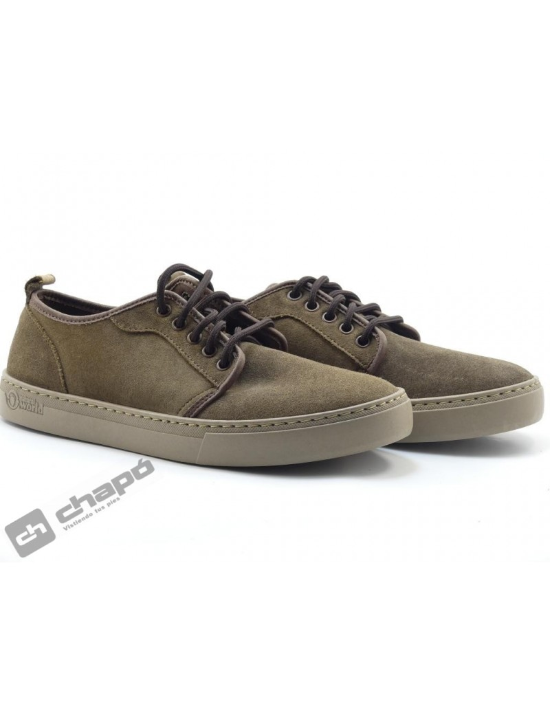 Snakers Marron Natural World 6761
