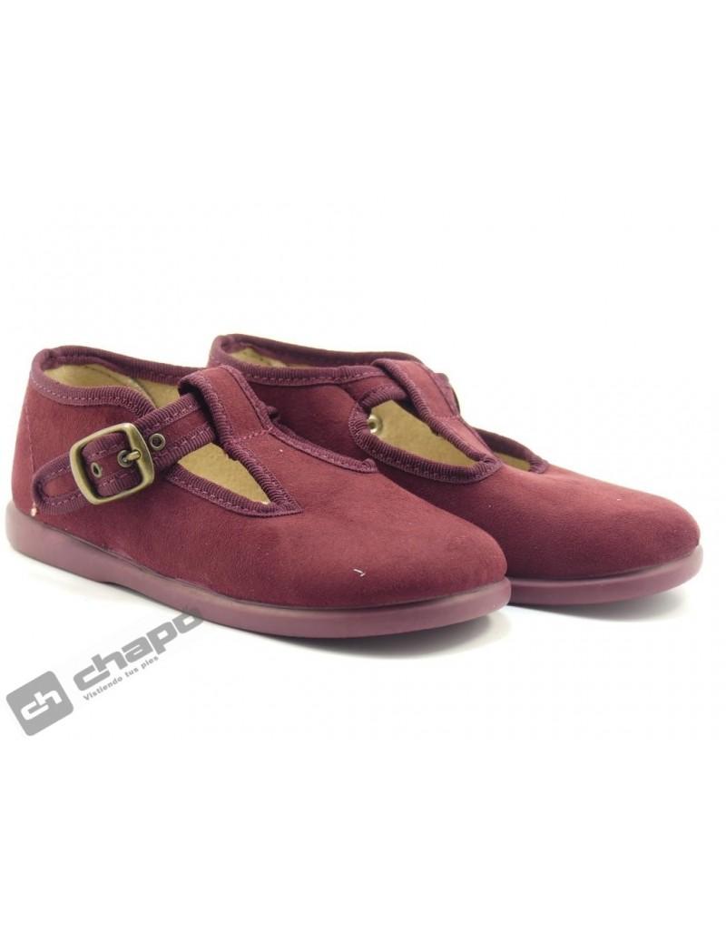 Zapatos Burdeo Batilas 12650