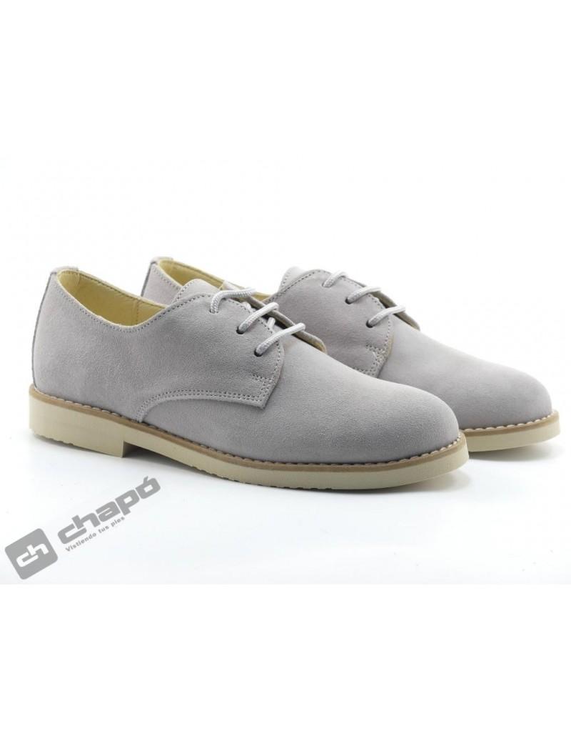Zapatos Gris Yowas 20344