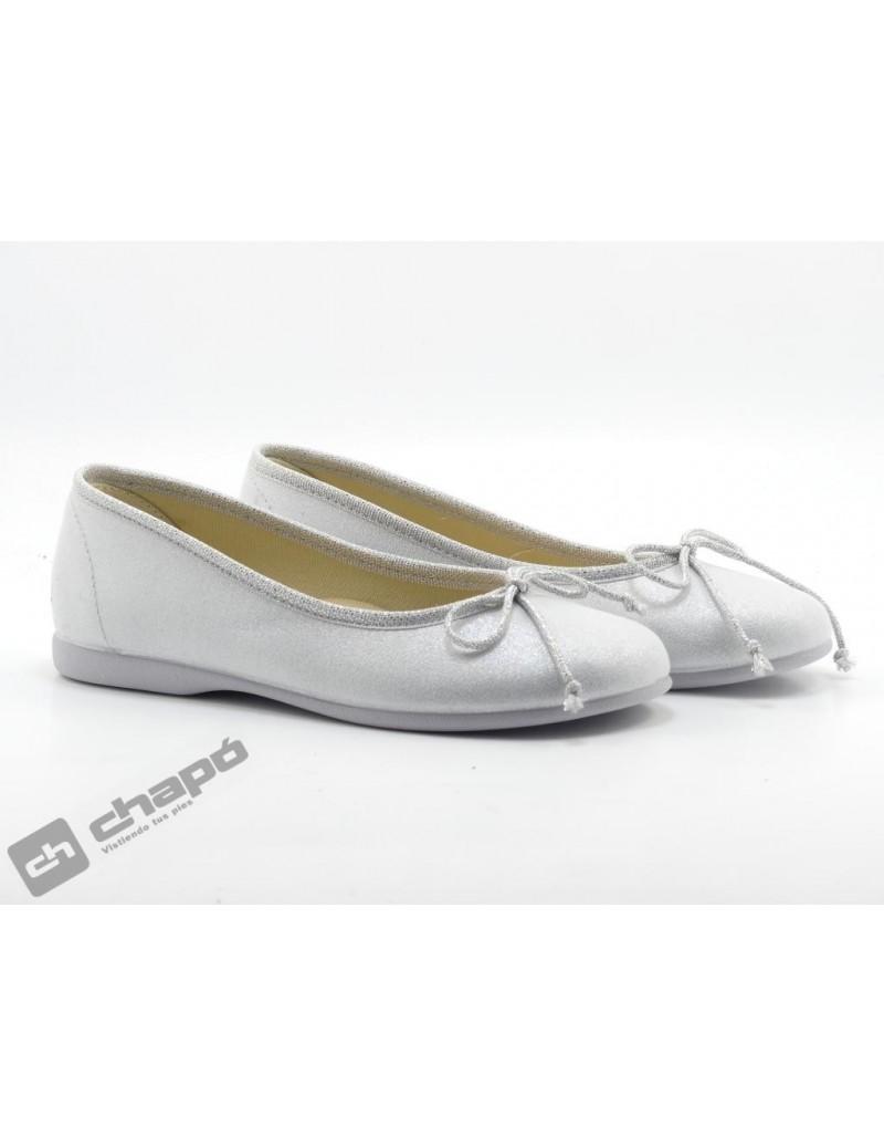 Zapatos Plata Batilas 111