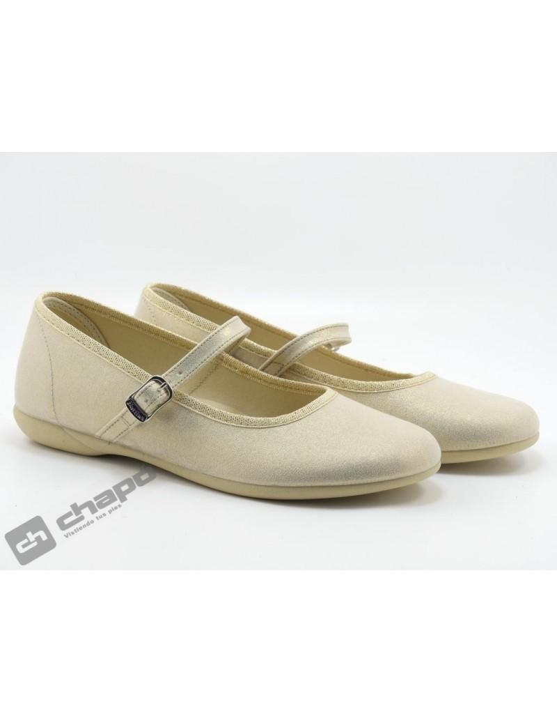 Zapatos Oro Batilas 107