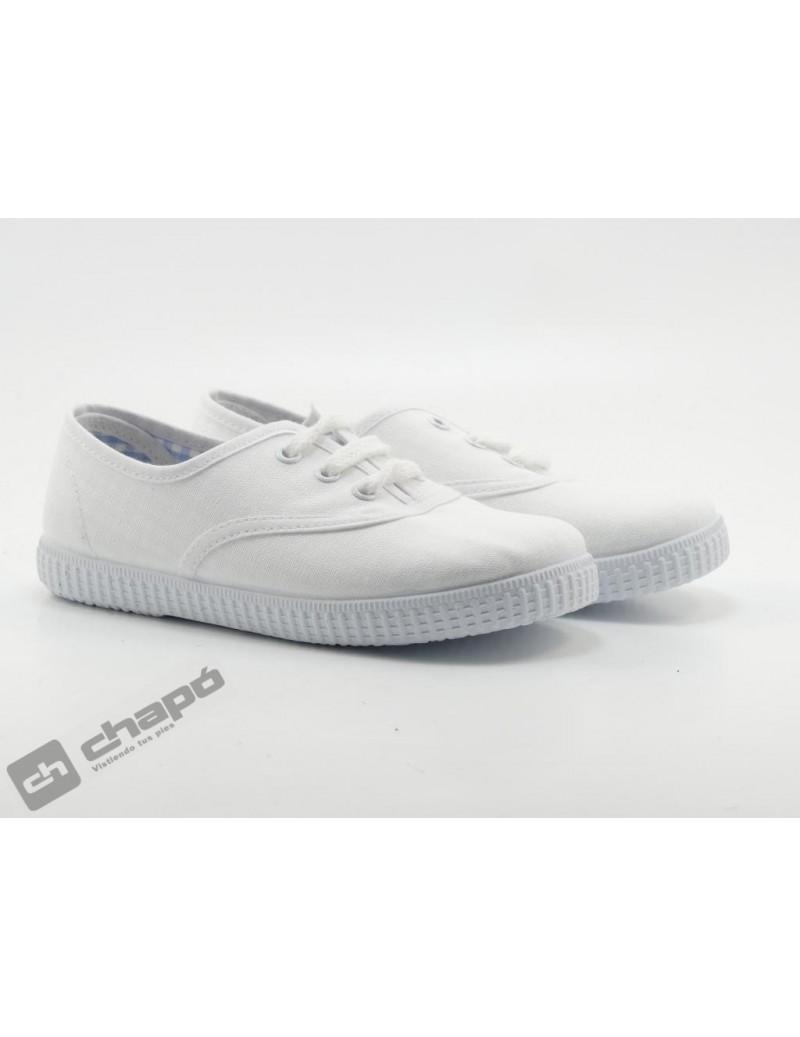 Zapatillas NiÑo-a Blanco Batilas 57601