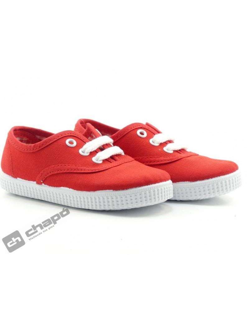 Zapatillas NiÑo-a Rojo Batilas 57601