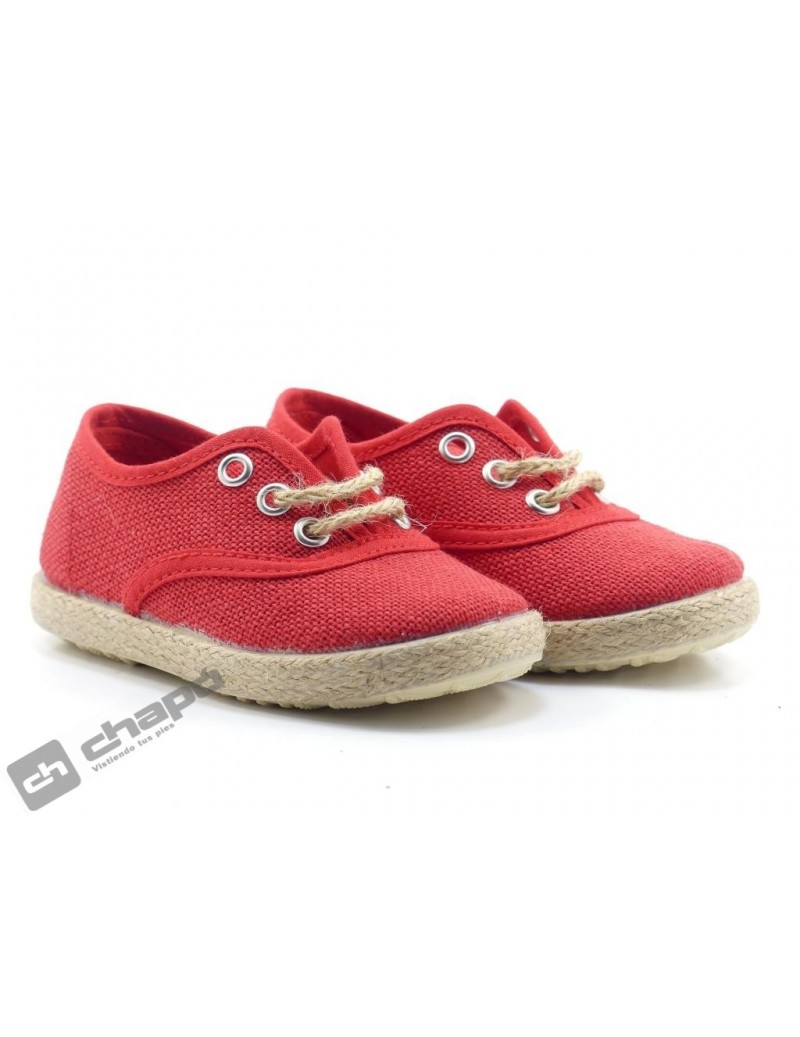 Zapatillas NiÑo-a Rojo Batilas 476-31
