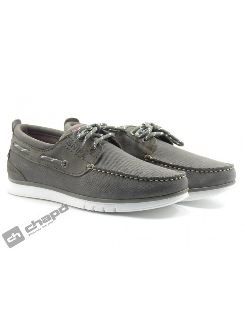 Zapatos Kaki Snipe 22498c