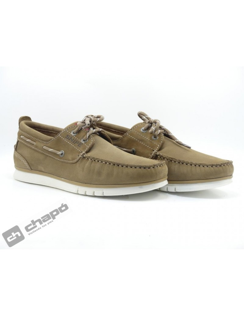 Zapatos Taupe Snipe 22498c