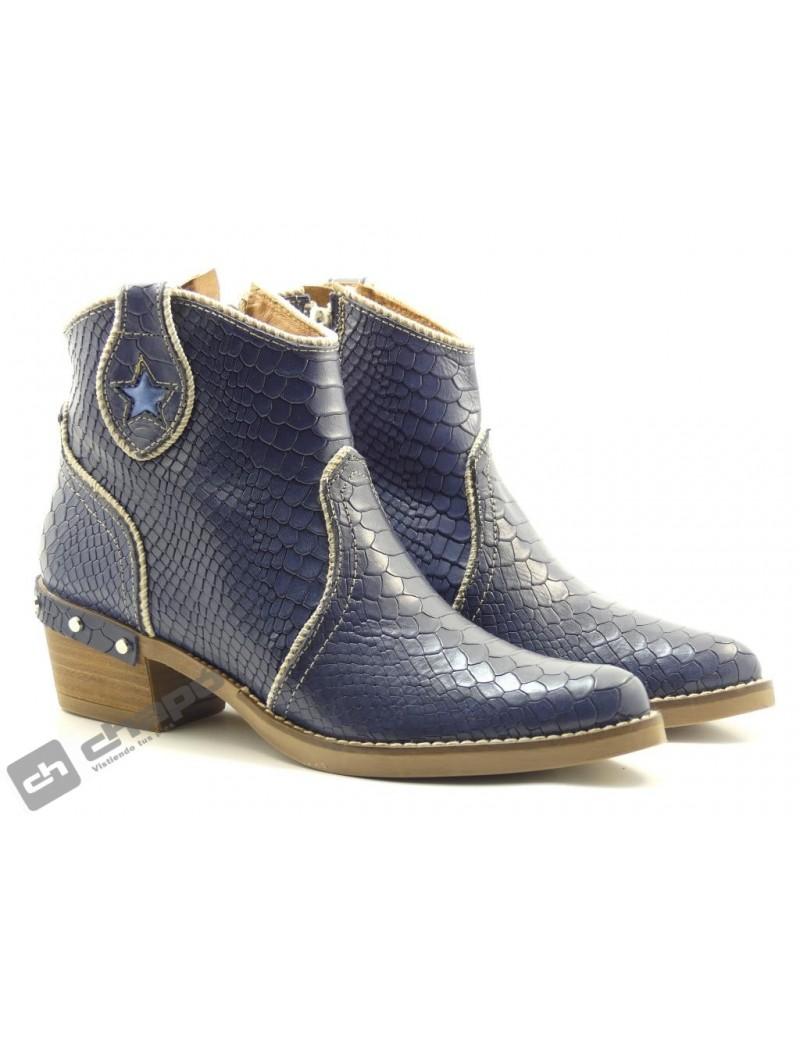 Botines Jeans Nemonic 2130