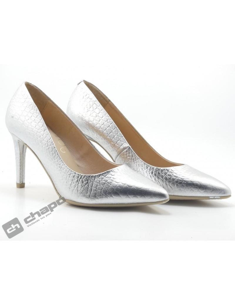 Zapatos Plata Giko 26120