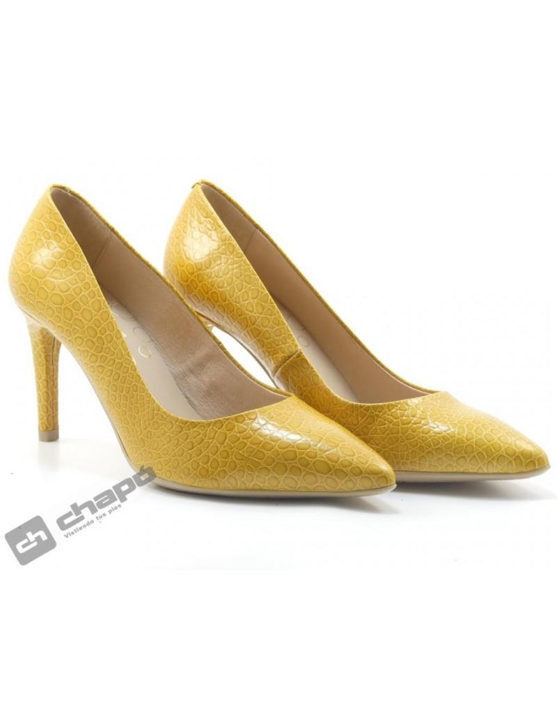 Zapatos Mostaza Giko 26120