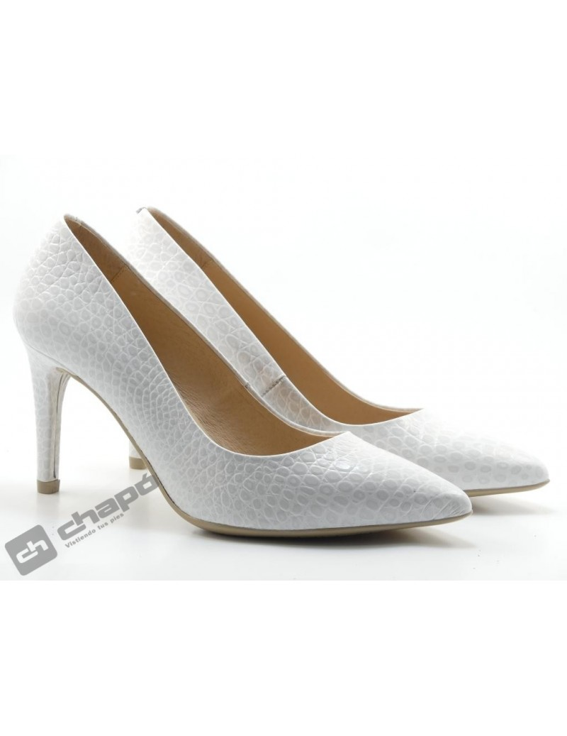 Zapatos Blanco Giko 26120
