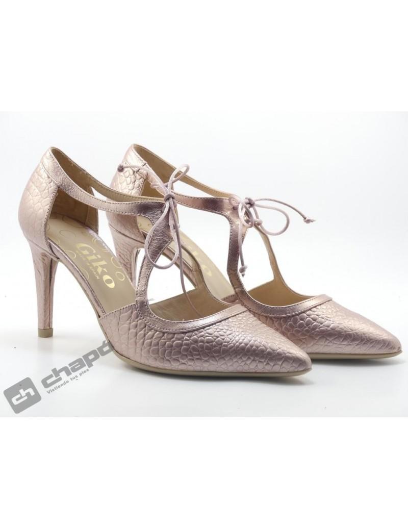 Zapatos Rosa Giko 34578