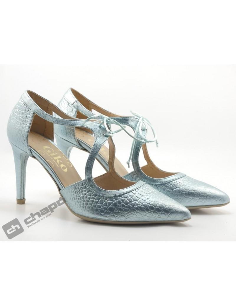 Zapatos Verde Giko 34578