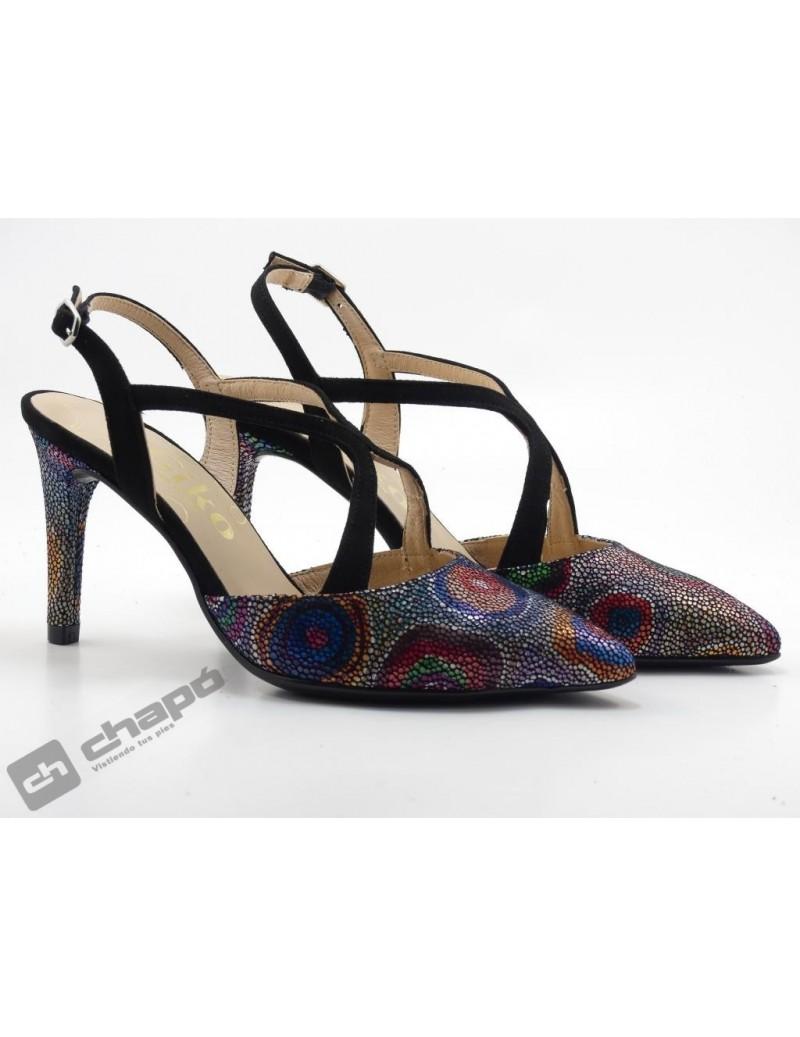 Zapatos Multicolor Giko 26139