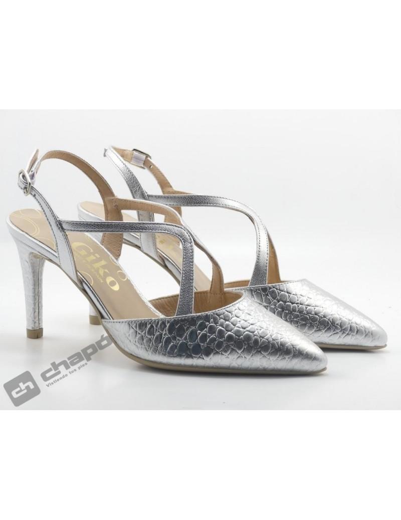 Zapatos Plata Giko 26139