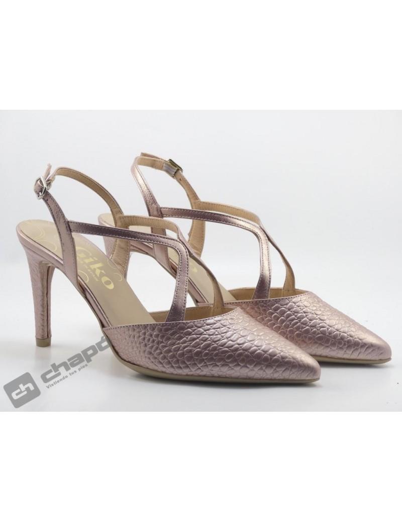 Zapatos Rosa Giko 26139