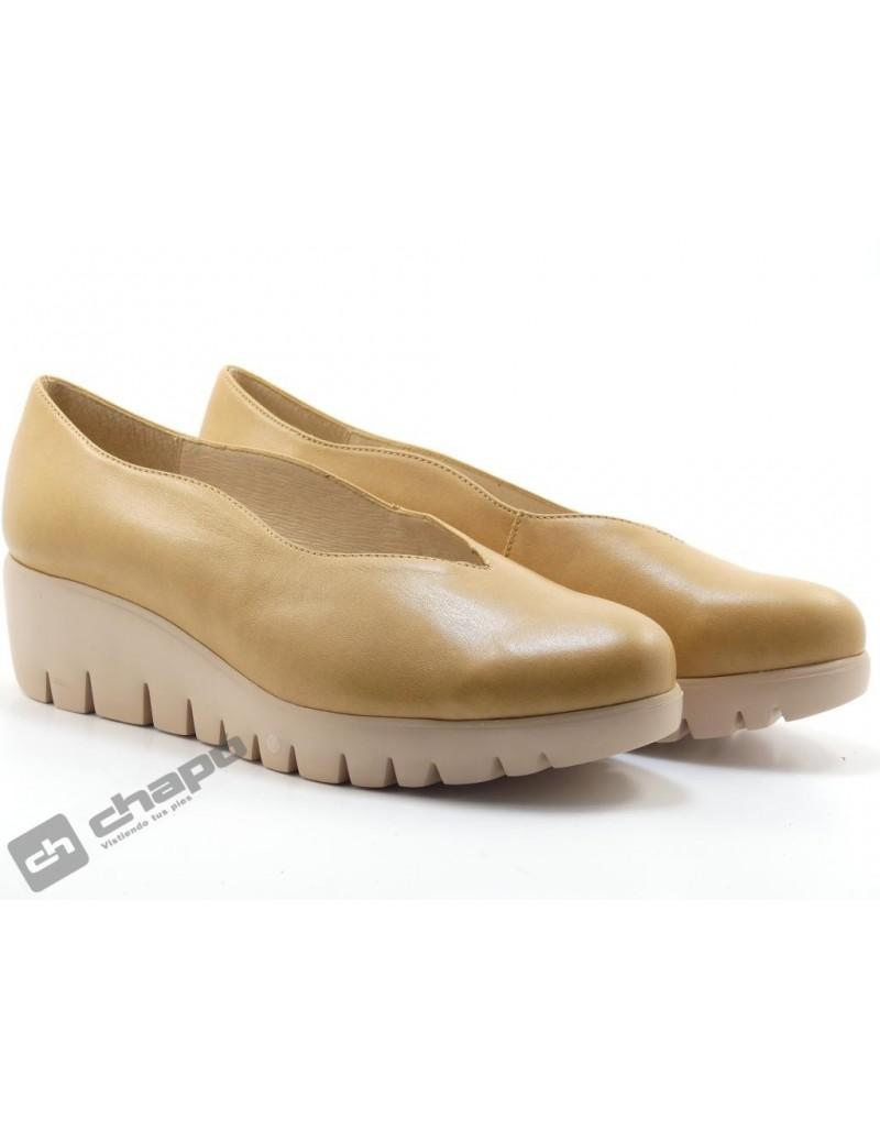 Zapatos Taupe Zapatos Wonders C-33160