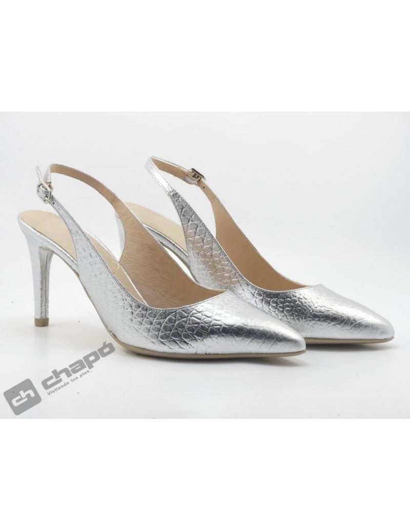 Zapatos Plata Giko 26125
