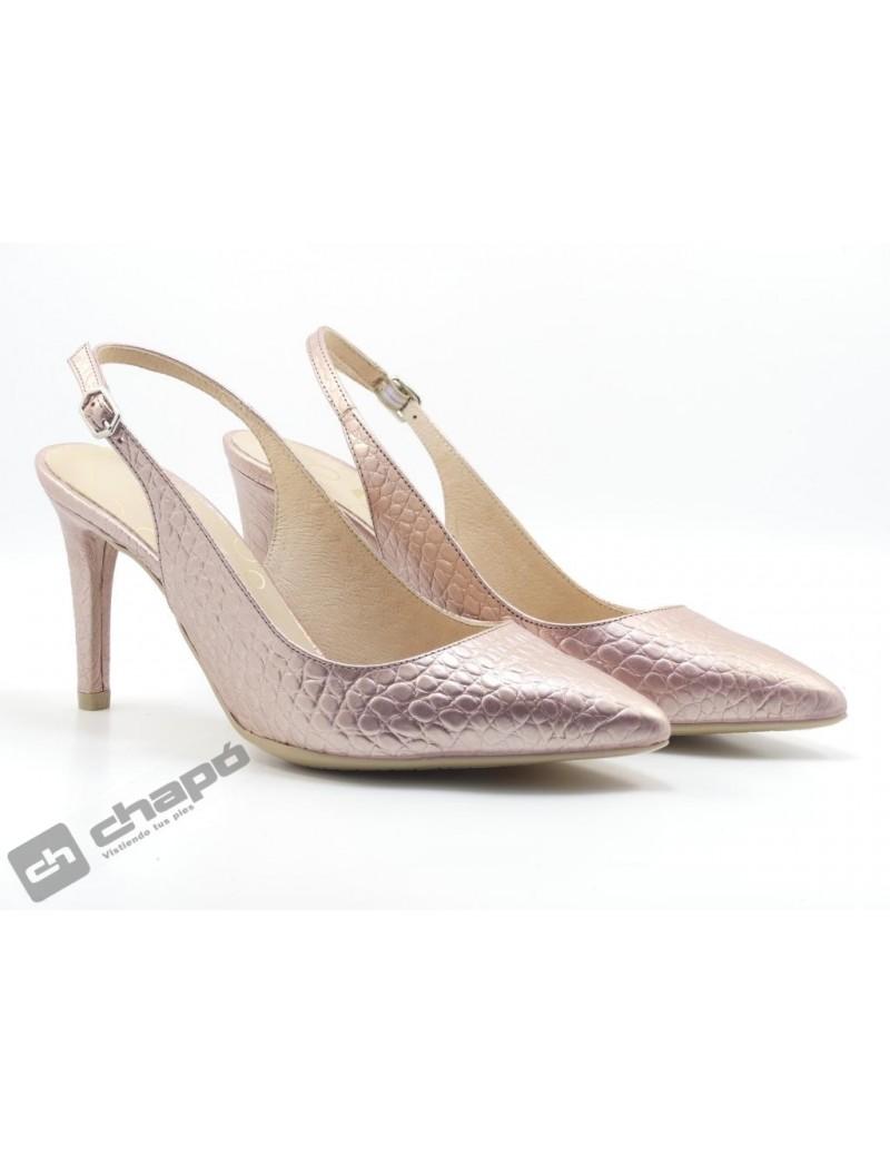 Zapatos Rosa Giko 26125