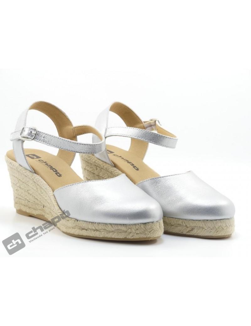 Zapatos Plata ChapÓ 540