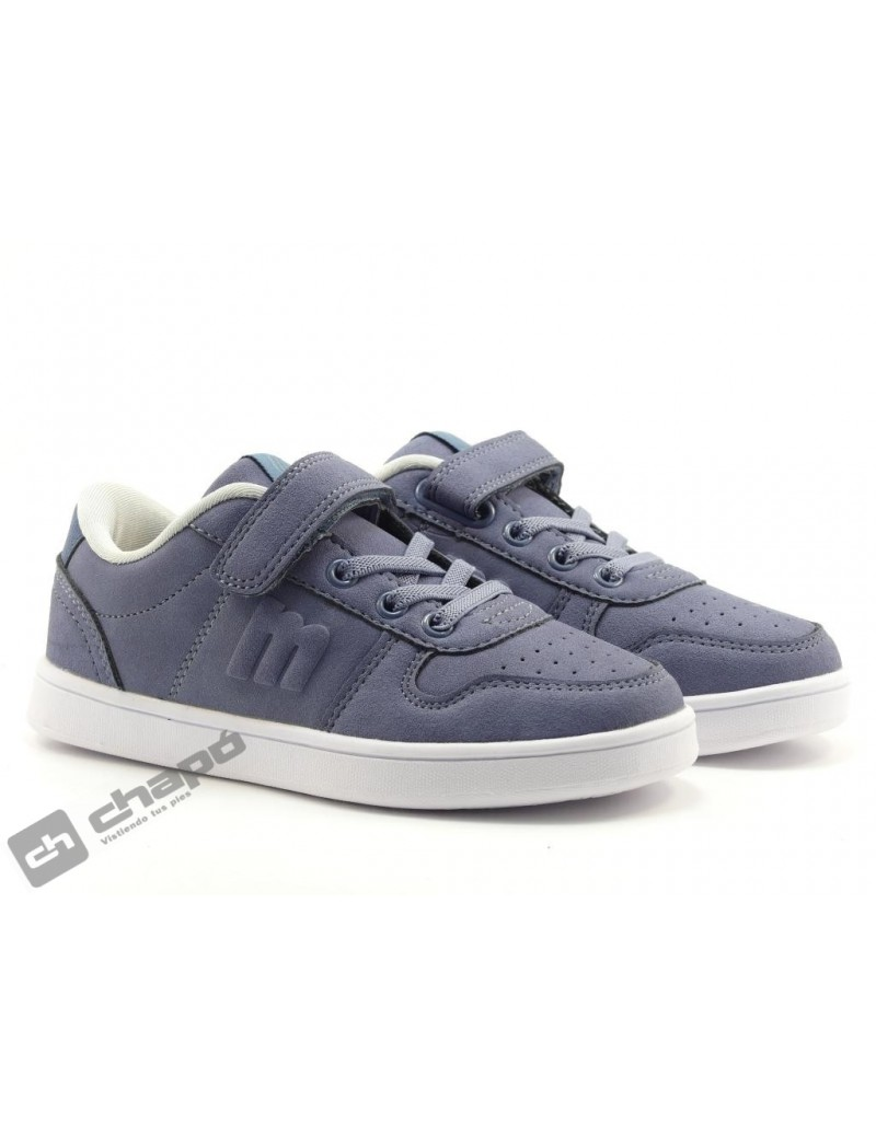 Sneakers Azul Mustang 47918-47917