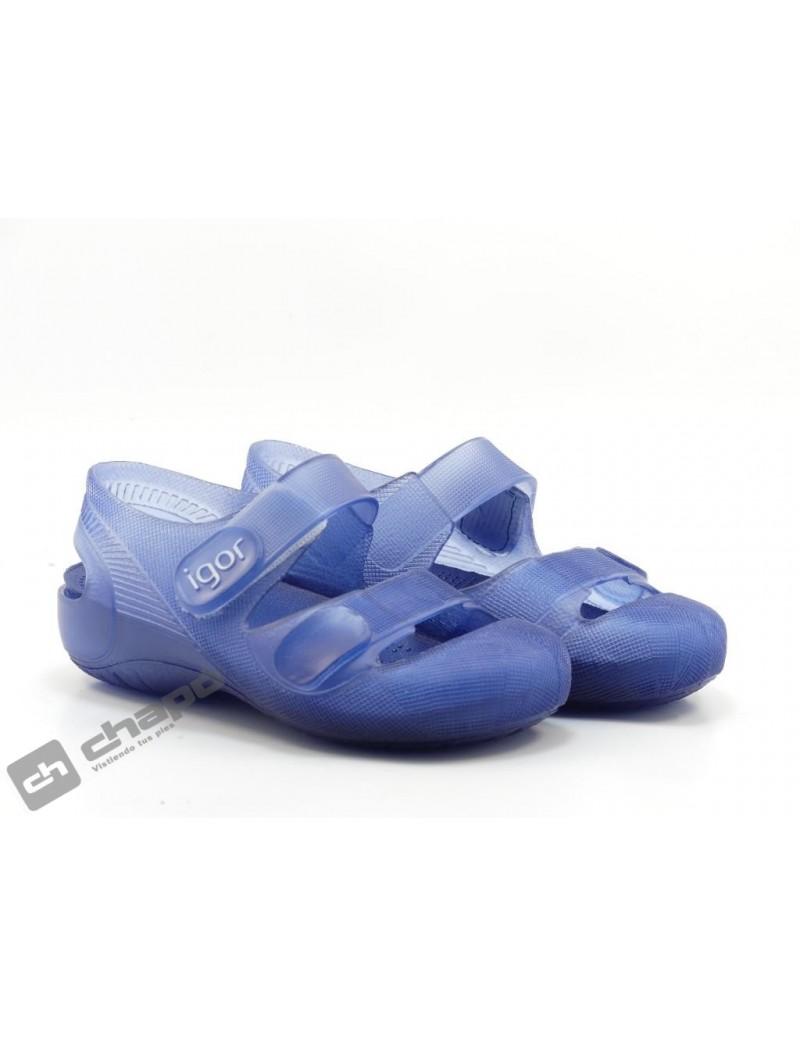 Cangrejeras Azul Igor S10110