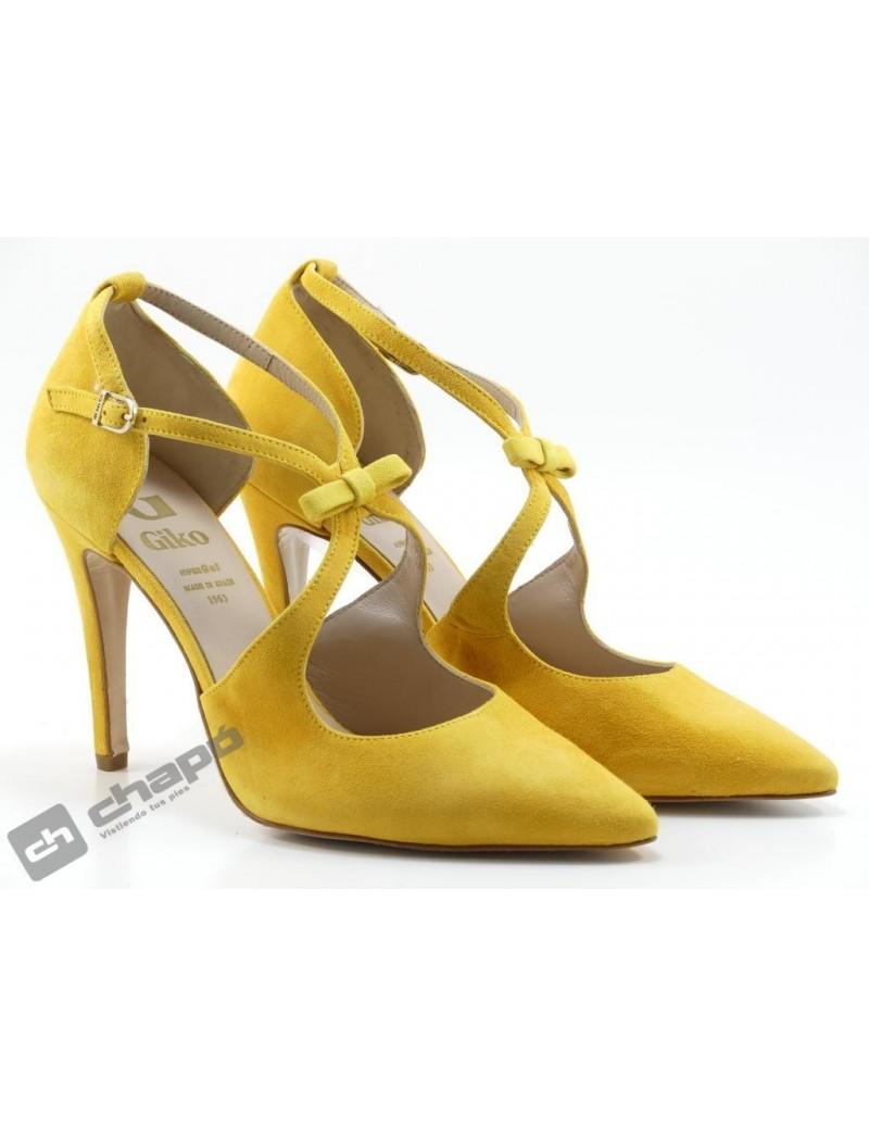 Zapatos Mostaza Giko 96265