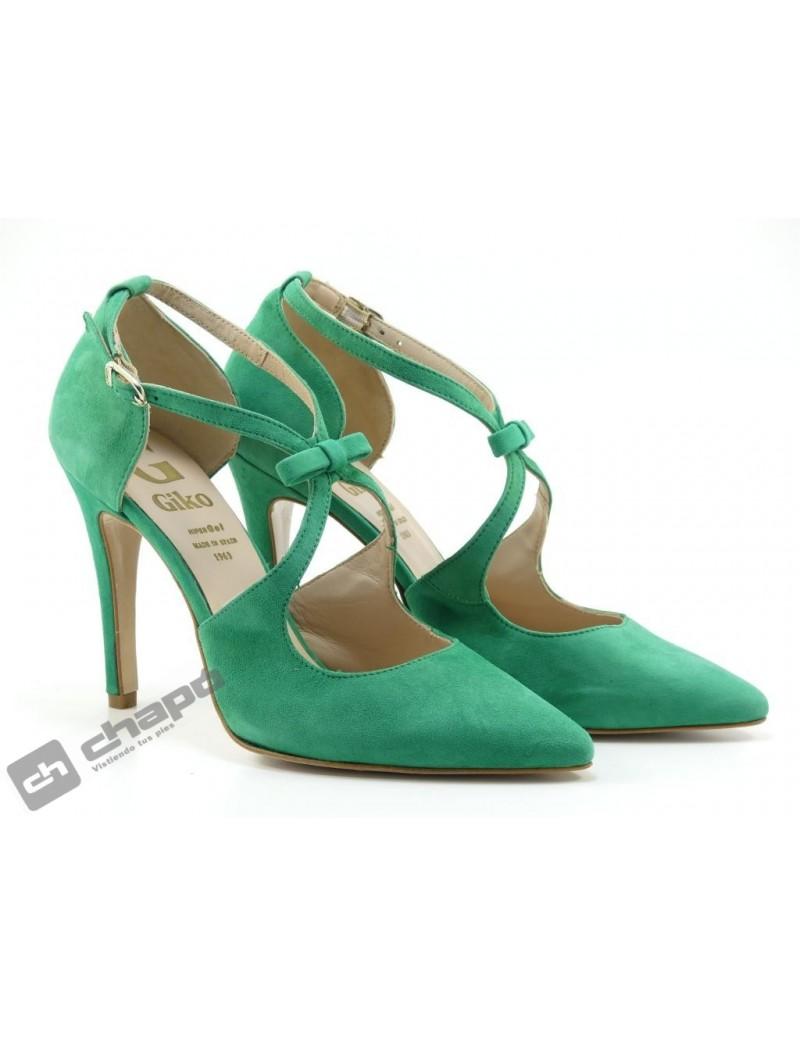 Zapatos Verde Giko 96265