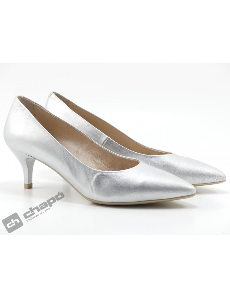 Zapatos Plata Giko 33120
