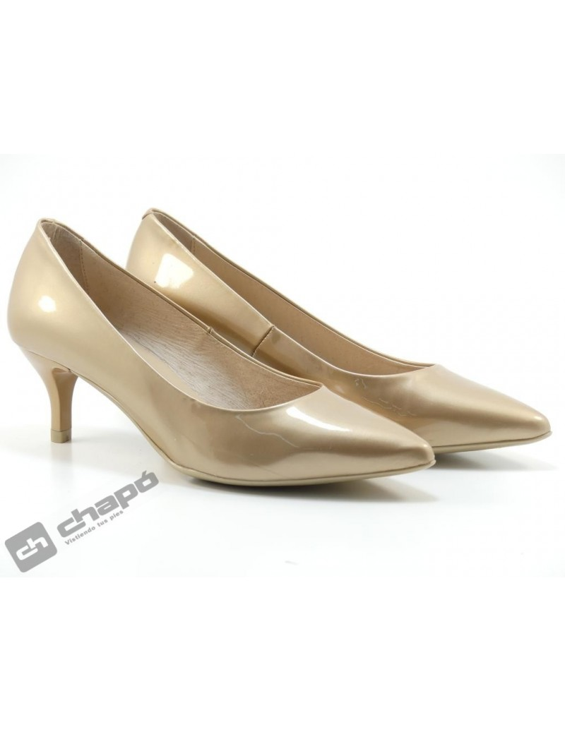 Zapatos Taupe Giko 33120