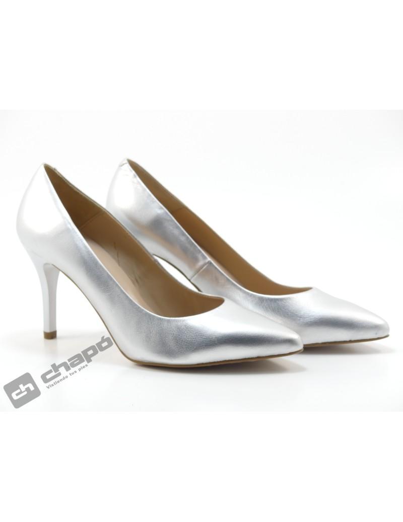 Zapatos Plata Giko 90201