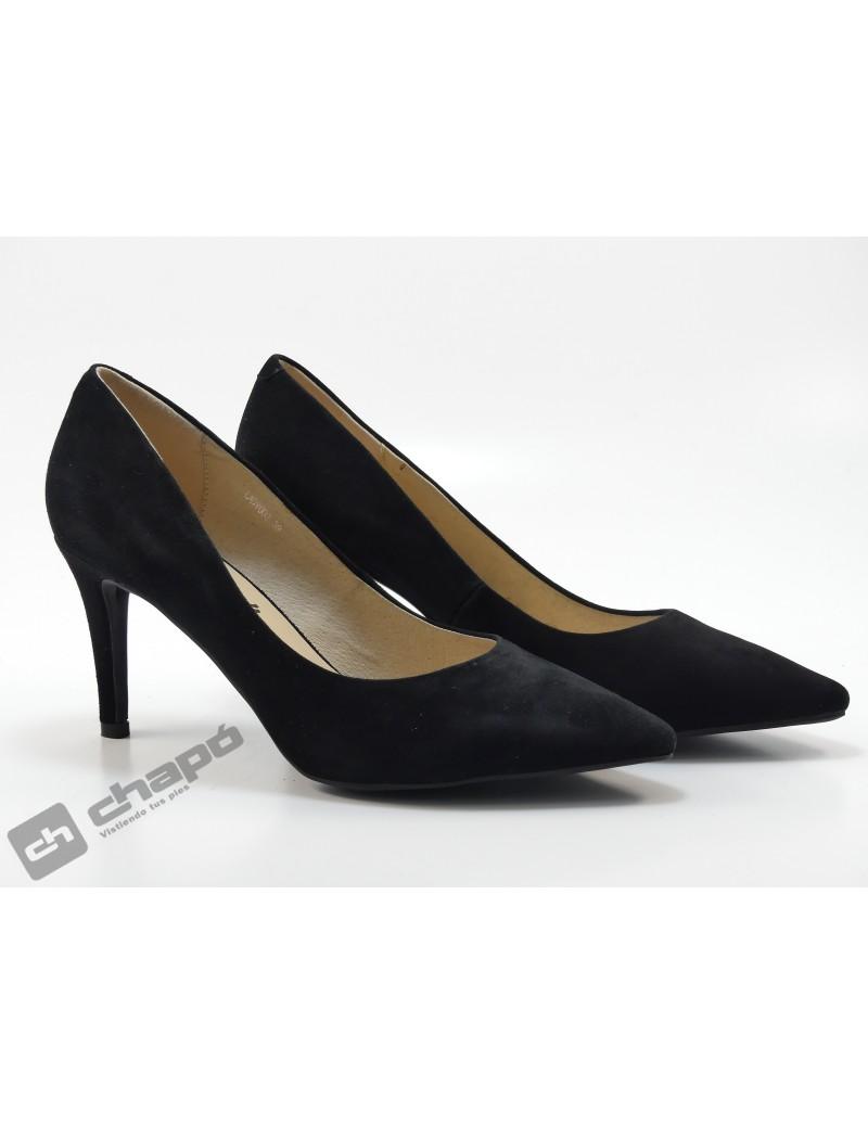 Zapatos Negro Monk Lapy 002