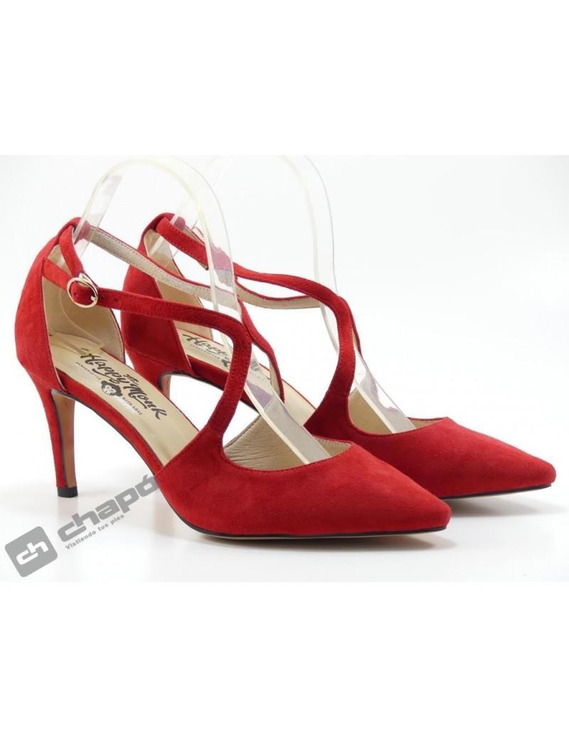 Zapatos Rojo Monk Lapy 004