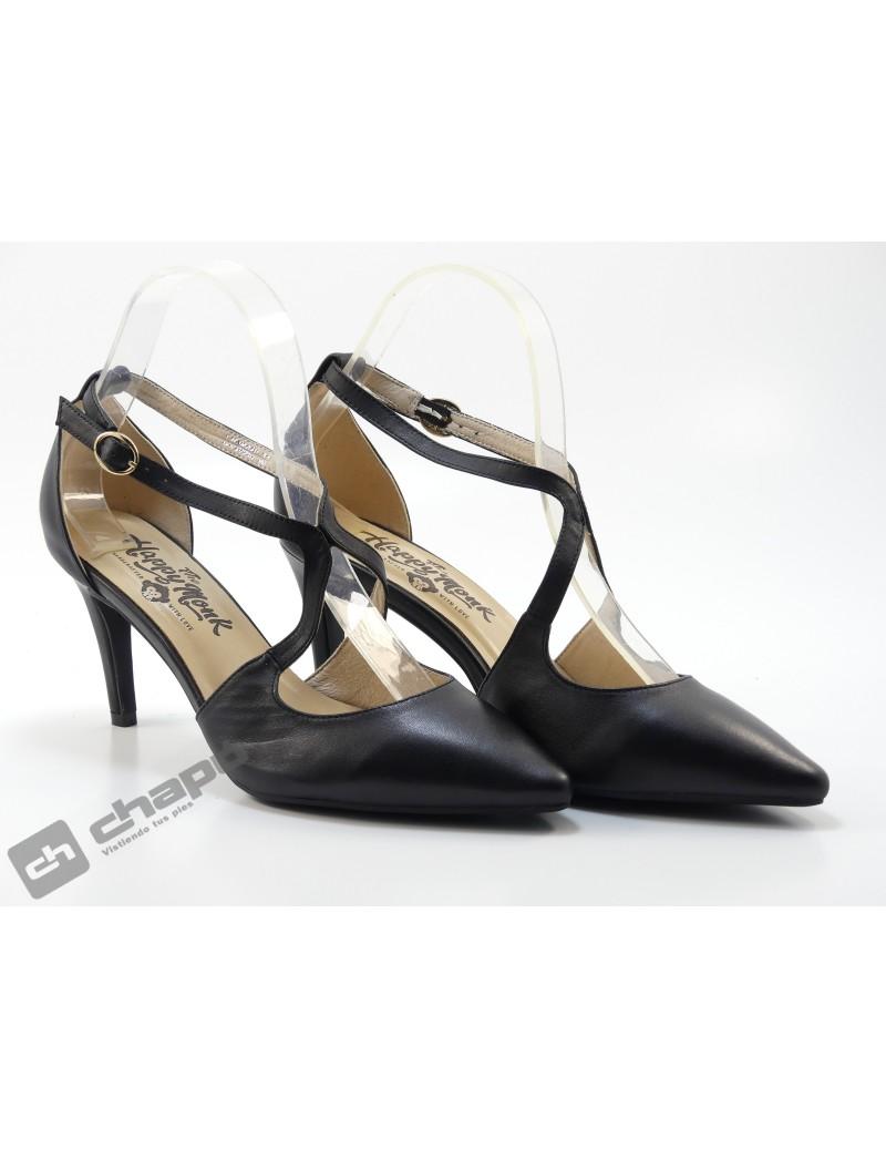 Zapatos Negro Monk Lapy 004